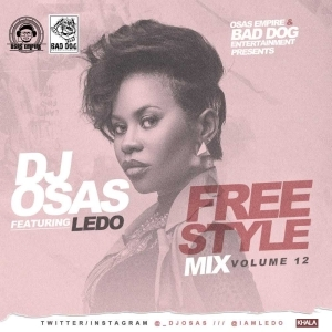 Dj Osas - Freestyle Mix Vol 12 Ft Ledo